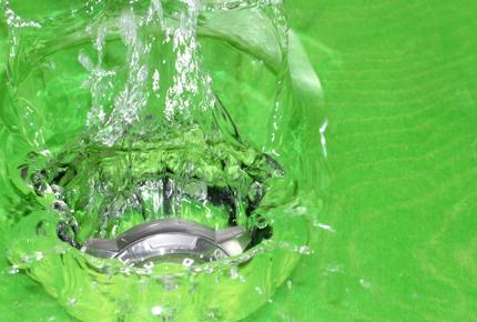 Kondenswasser Year Der Innenseite of the Uhrglases