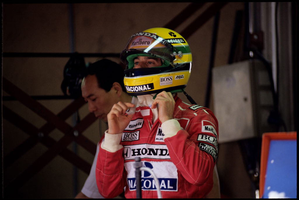 Ayrton Senna in Monaco - @Norio Koike (1)