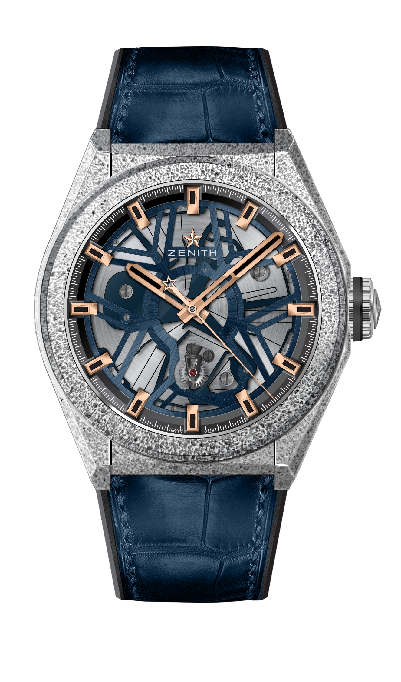 ZENITH Defy Lab B 6 Blue Rose Gold