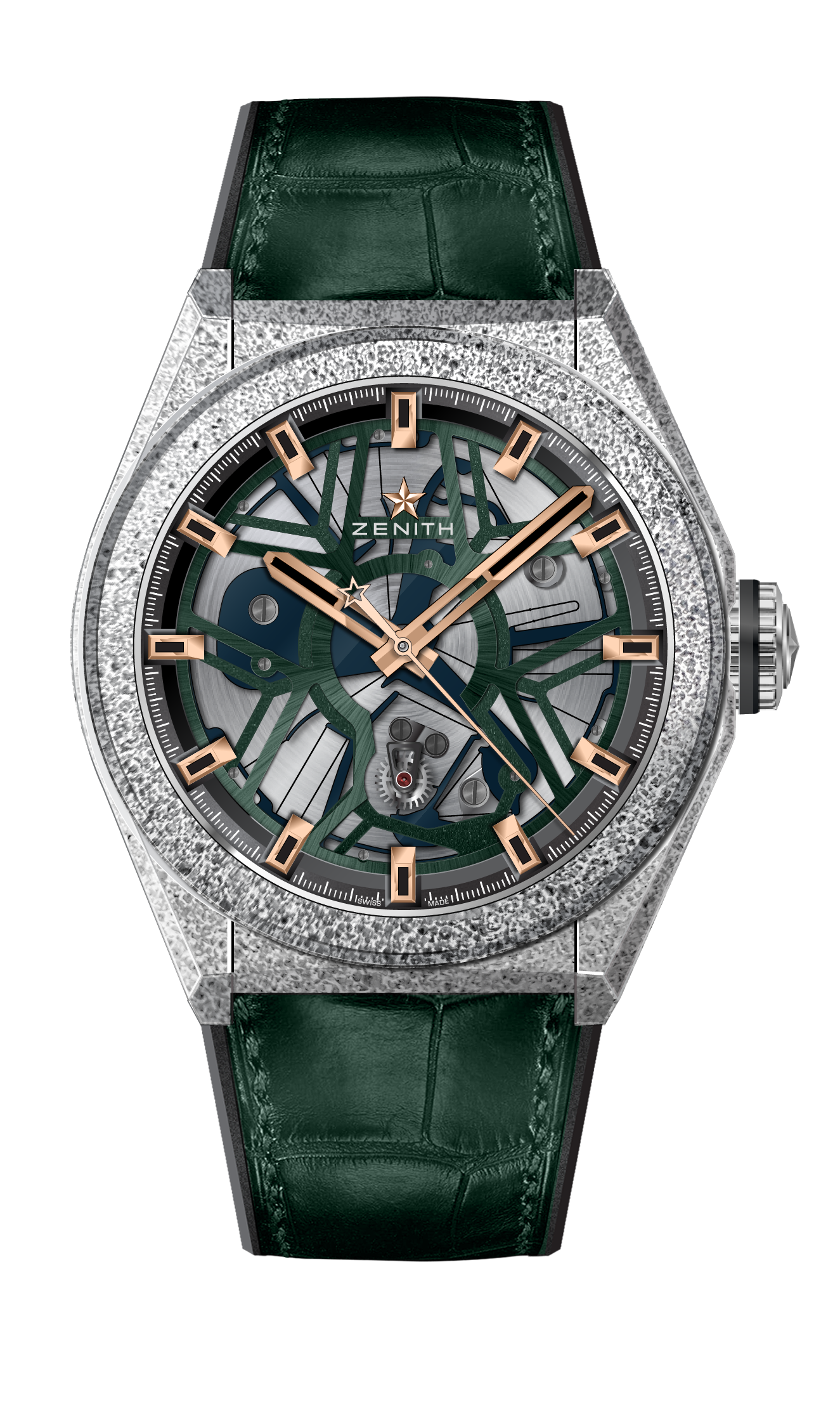 ZENITH Defy Lab B 9b Green Rose Gold